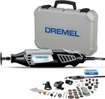 Dremel 4000 Rotary Tool 175W Multi Tool Kit (4 Attachments, 50 Accessories) $164.25 Delivered @ Amazon AU