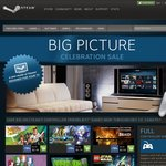 Steam Big Picture Sale 33%-75% off (Counter-Strike - Global Offensive 50% off  - $7.49USD)