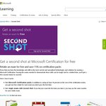 Free Second Shot for Microsoft Certification Exams