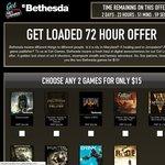 [Steam] Get Loaded - 2 Bethesda Titles for $15 USD (Dishonored, Doom 3 BFG, Oblivion GOTY, More)