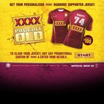 Maroons XXXX Personalised Supporter Jersey $20