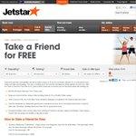 Take a Friend for Free - Jetstar Melb to KL $692 for 2 Return (Starter Fare)