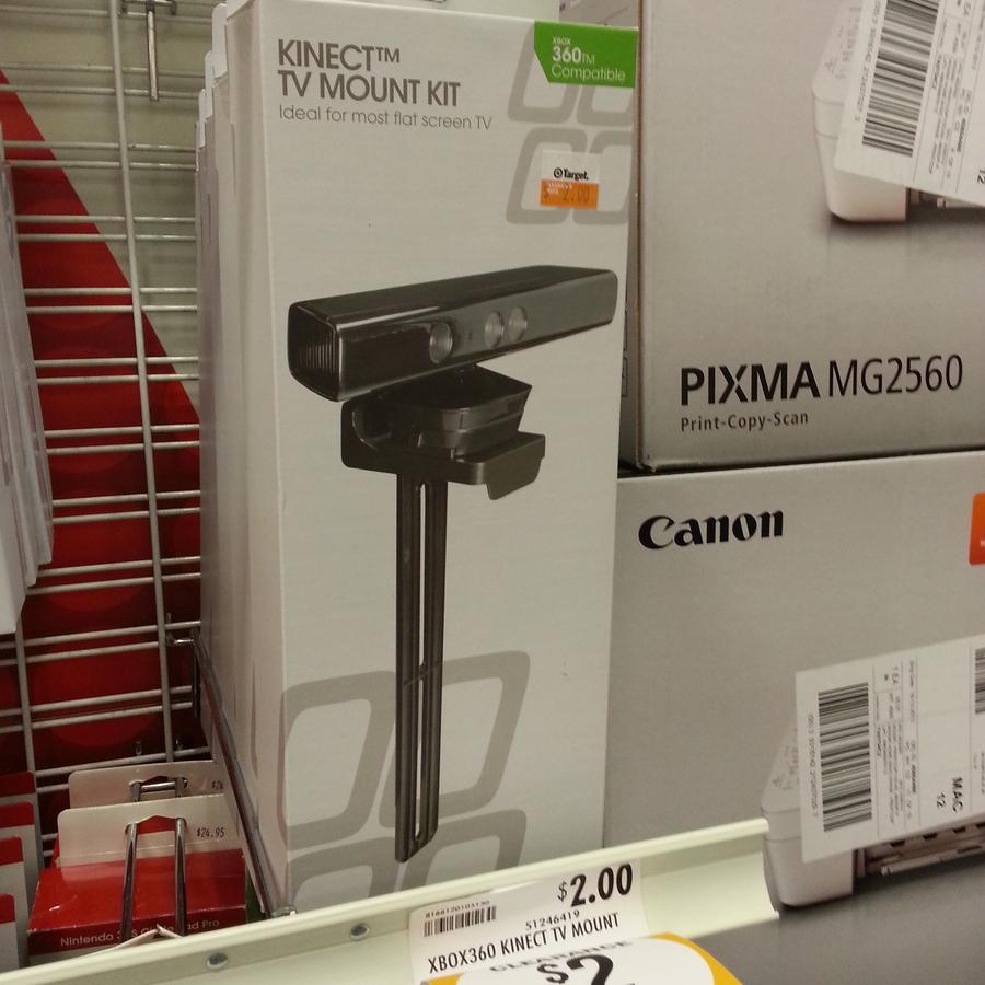 Kinect Xbox 360 TV Mount $2 @ Target Mackay - OzBargain