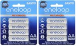 8x AAA Eneloop Batteries (Two 4x Packs) - $19.98 Delivered - Dick Smith eBay Store