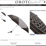 Oroton Signature 'O' Small Umbrella $19.50 (Was $65.00) @ Oroton + $14.95 Delivery
