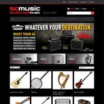SCM - EOFY Sale Buy any Acoustic or Electric Guitar and receive a Capo, Tuner and Strap FREE