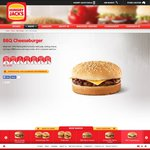 Hungry Jacks Hackburger: BBQ Cheeseburger w/ ALL Extras (except Cheese and Bacon) ONLY $2