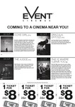 $8 Movie Tickets @ Event Cinemas (Box Office Only - Valid until 16/11/14)
