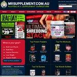 15% off Store Wide MrSupplement.com.au