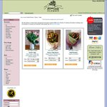 20% OFF Tulip Bouquet, Divine Tulips, Roses Tulip Bunch from Lucy Loves Charlie Flowers