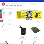 Crumpler 30% off (Further 10%) Selected Models (Skivvy, Dry Red, Bell, Million Dollar Home, etc)