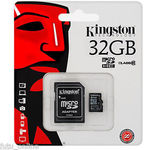 32GB Kingston Class 10 MicroSDHC $13.60 Delivered - Futu Online eBay