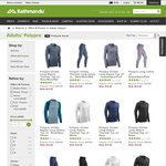 Adults' PolyPRO Thermals $12 (Was $29.98) + Click & Collect @ Kathmandu
