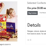 Chocolate Gift Boxes for Father's Day (Includes Kit Kat Miniatures) $5 (Save $3.50) @ Kmart