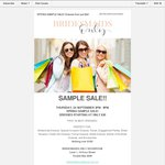 Bridesmaids Only Spring Sample Sale (Double Bay, Sydney)