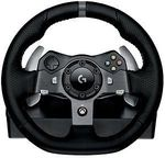 Logitech G920 Driving Force Racing Wheel + Logitech Driving Force Shifter $350 CC @ eBay Dick Smith