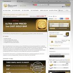 Perth Mint 1oz Cast Gold Bar for $20 over Spot (~ $1647 AUD)