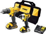 Dewalt 18v Li-ion Drill and Impact Driver $229 @ Bunnings Warehouse