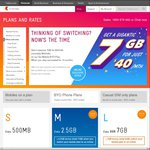 Telstra - 7GB for $40/Mth (Normally $50/Mth) on 12 Month Go Mobile BYO Plan