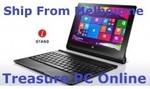 "$369 Lenovo Yoga Tab2 Win 8.1 Z3745 10.1"" FHD 32+32GB Storage Tablet & Keyboard Dock @ Treasure PC"
