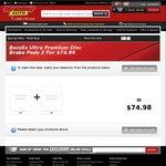 Bendix Ultra Premium Disc Brake Pads 2 For $74.99 (BOGOF) from SuperCheapAuto