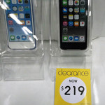 iPod Touch 6th Gen 16GB Space Grey $219 [Clearance In Store] Kmart Cairns QLD Centenary Plaza