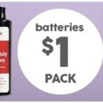 Target [in-Store] All Essential Battery Packs for $1