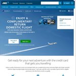ANZ Rewards Travel Adventure Card - $225 Annual Fee Including Complimentary Domestic Flight