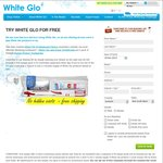 Free White Glo Oral Health Sample Kit (50 People Per Day)