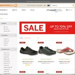 Up to 70% off Listed Styles at Merrell Australia. Men's Trail Glove 3 $129.95, Women's Bare Access Arc 4 $129.95