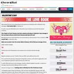 Free Valentine's Day Message in Newspapers (VIC/QLD/NT, Excl. SA/NSW)
