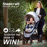 WIN A Brand NEW Steelcraft™ Strider Compact™ Deluxe Edition Stroller Worth $849