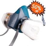 3M 7502 Half-Face Respirator + 6001 Cartridges 50% off ($29.99 Plus Shipping) @ Paintaccess.com.au