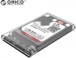 """ORICO 2139U3 2.5"""" SATA to USB 3.0 Transparent Hard Drive Enclosure US$4.89 (AU$6.48) or Black US$4.60 (AU$6.10) Shipped @ Zapals"""