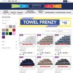 Sheridan Bath Towels $15 + $10 Shipping @ Sheridan Outlet