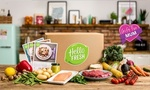 Groupon - Hello Fresh - Five Meals for 4 People, One Week $94.95 (Was $189.95) First Box Only [Mel-Bris-Adel]