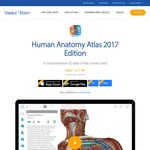 Visible Body's Human Anatomy Atlas 50% off - US $11.99/AU $17.99 (iOS/Android/PC/Mac)