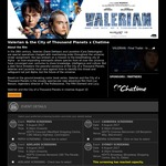 Free Movie Tickets for Advance Screenings of 'Valerian and the City of a Thousand Planets' - (Syd, Mel, Adl, Can & Perth)