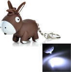 Cute Donkey LED Keychain w/ Sound $1 US (~$1.27 AU) Shipped @ Tmart