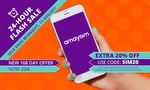 Groupon 20% off amaysim Prepaid Unlimited 2GB 6x 28 Days Renewals $31.20 (New Cust Only). Expires Midnight 11/8
