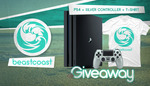 Win a PS4 Console, Silver PS4 Controller & T-Shirt from beastcoast