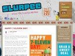 Free Slurpee on 7 November 2010, 7AM-2:11PM