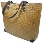 Classic Straw Beach Bag - $19 Shipped (RRP $45) @ Wickertote.com.au