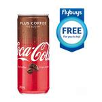 Coles - Free Coke Plus Coffee 250ml Can - Flybuys Members