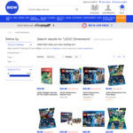 LEGO Dimensions (Starter, Story, Level, Team & Fun Packs) up to 50% off @ BigW