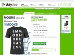 Mooks Tees - Mens/Womens - $22 Delivered