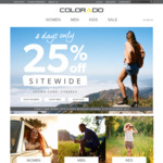 Colorado 25% off Sitewide