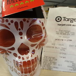 Red Habanero Hot Sauce in a Skull - $2.50 at Target (Charlestown, NSW)