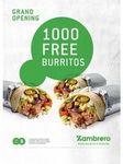 [WA] 1000 Free Zambreros Burritos Today 12pm - Wanneroo WA