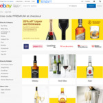 20% off Liquor and Drinkware for Selected Stores @ eBay